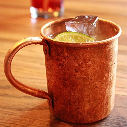 copper mugs can enhance the taste of some beverages - Moscow Mule Copper Mug
